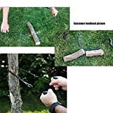Doingart Chain Saw Portable Folding Pocket Survival Hand Chain Pocket Chain Saw Tool - 39.7 Inches Long