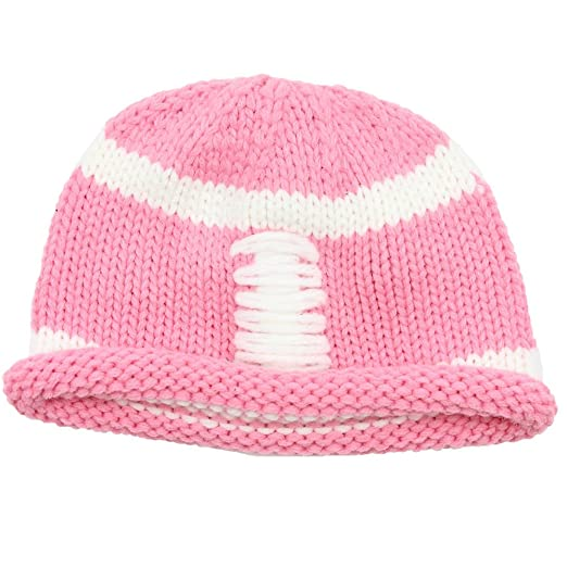 dbcaf45b963 Amazon.com  juDanzy baby   toddler girls pink football hat with ...