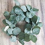 Supla 10 Pcs Fake Eucalyptus Leaves Stems Bulk