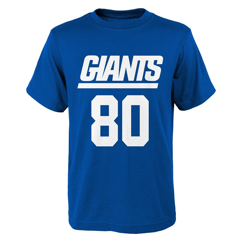 OuterStuff Victor Cruz New York Giants Youth Mainliner Jersey Name and Number T-Shirt Large 14-16