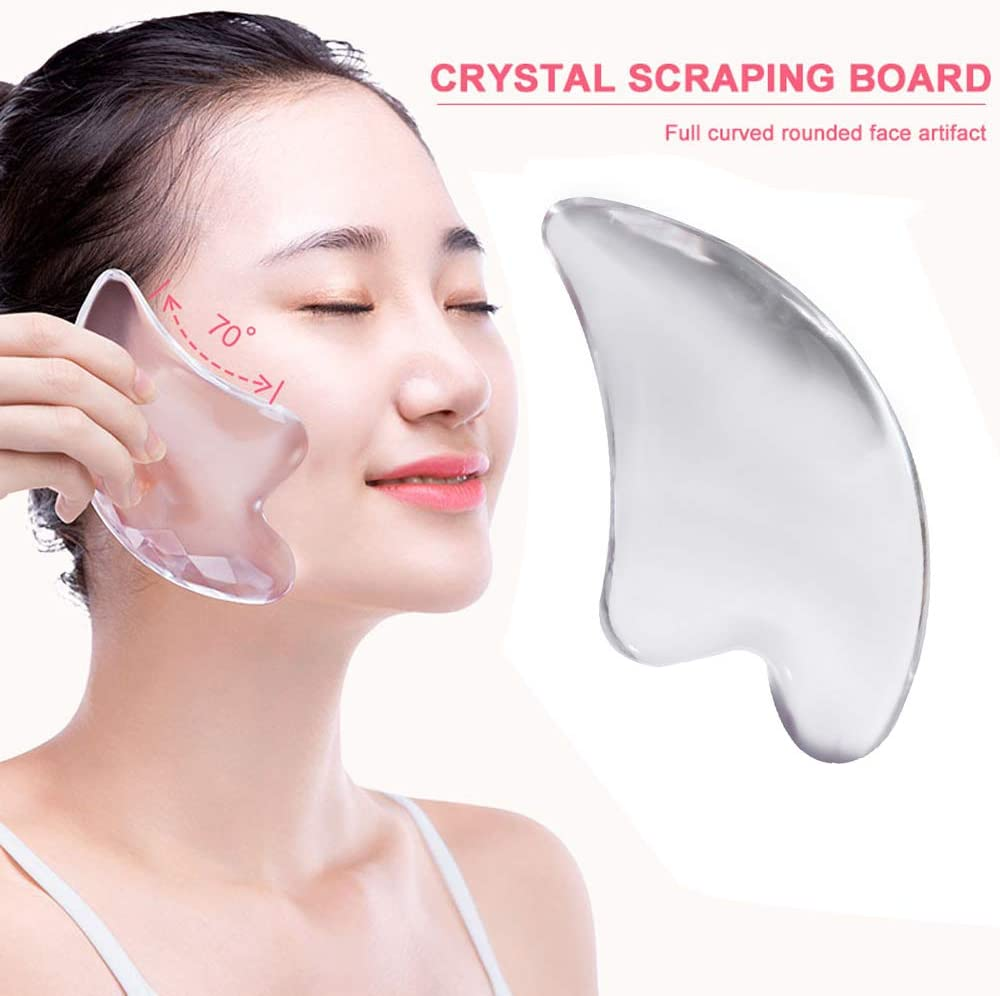 Scraping Massage Tool for Face and Body Gua Sha Massage Tool Slimming Anti-Aging Firming Traditional Scraper Tool for Anti-Wrinkles