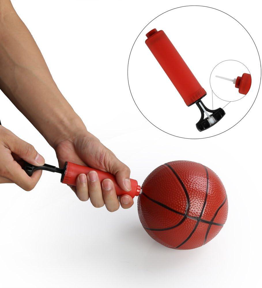 PELLOR Ajustable Canasta Aro de Baloncesto Canasta Baloncesto Infantil Aro de Blaconcesto Se Puede Subir y Bajar para Ni/ños