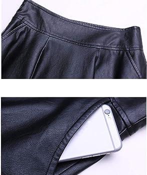 Falda Plisada con Efecto De Falda Minifalda Y Pliegues De ...