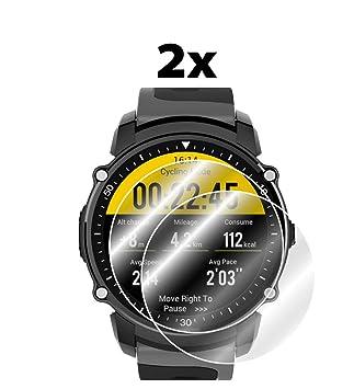 IPG Protector de Pantalla para Reloj Inteligente Kingwear FS08 (2 ...