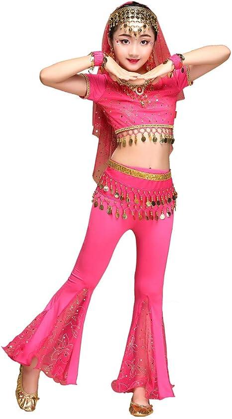 Byjia Conjunto de Disfraces de Pantalones de Danza del Vientre ...