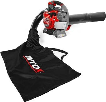 Mitox 280BVX Premium Soplador/aspirador de hojas de gasolina, rosso: Amazon.es: Bricolaje y herramientas