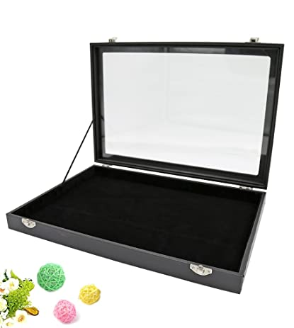 Amazoncom Wuligirl Empty Storage Jewelry Boxes Showcase Jewelry