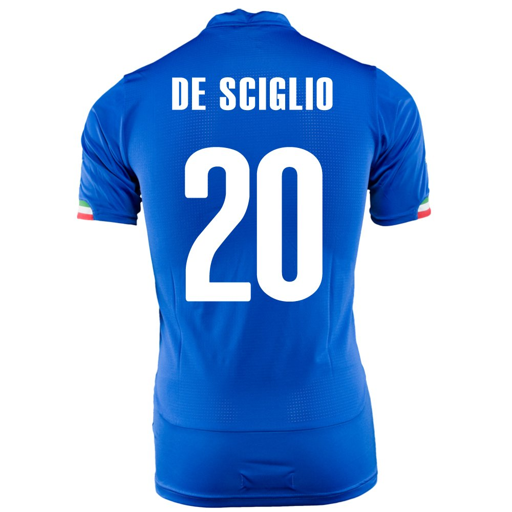 PUMA DE SCIGLIO #20 ITALY HOME JERSEY WORLD CUP 2014/サッカーユニフォーム イタリア代表 ホーム用 ワールドカップ2014 背番号20 デシリオ B00JKVAJCOXL