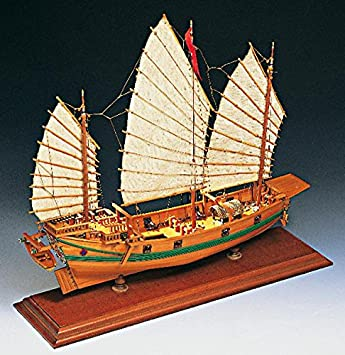 Amati 1421. Kit maqueta barco pirata Junco Chino: Amazon.es ...