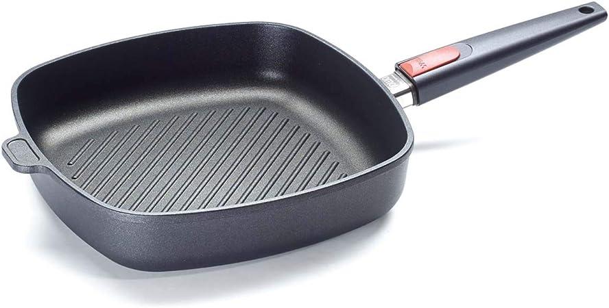 Woll 1628-1N Sartenes para freír, fundición de Aluminio, Negro, Centimeters: Amazon.es: Hogar