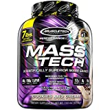 ویکالا · خرید  اصل اورجینال · خرید از آمازون · MuscleTech Mass Tech, Scientifically Superior Weight Gain Formula, Cookies and Cream, 7 lbs (3.18kg) wekala · ویکالا