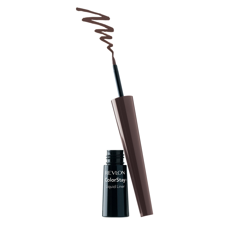 Revlon Colorstay Liner Liquid Eye Makeup Unisex, No.252 Black Brown, 0.08 Ounce 7210560002