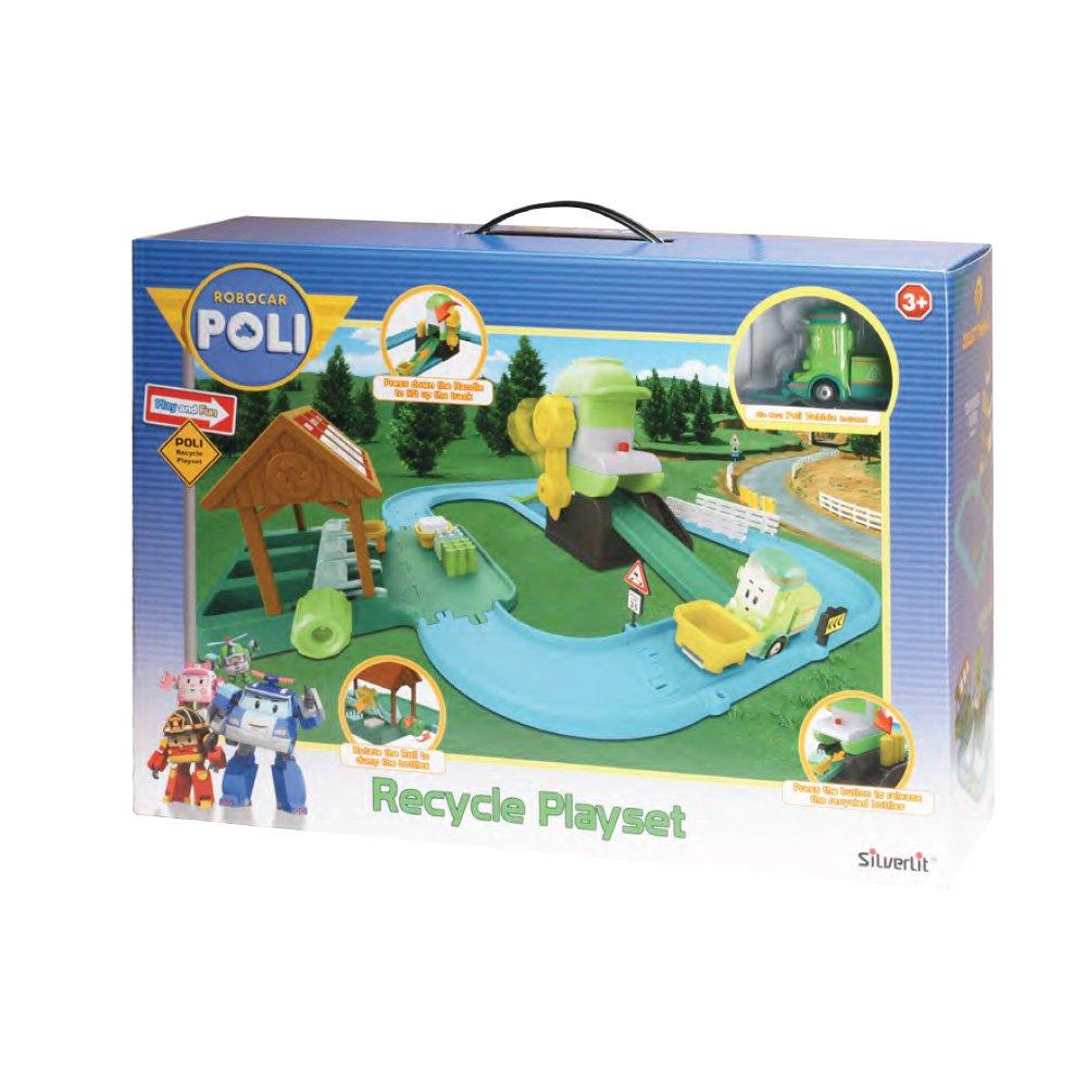 Poli Recycle Playset Giocattoli 83155 Rocco Robocar l1JKFc