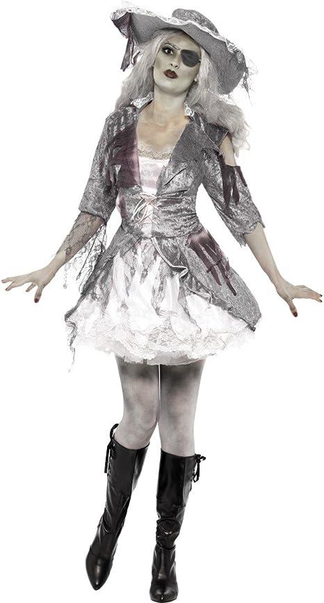 Disfraz de pirata Zombie para disfraz de pirata fantasma pirata ...