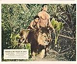 TARZAN AND THE VALLEY OF GOLD MIKE HENRY MANUEL PADILLA LION ORIGINAL LOBBY CARD