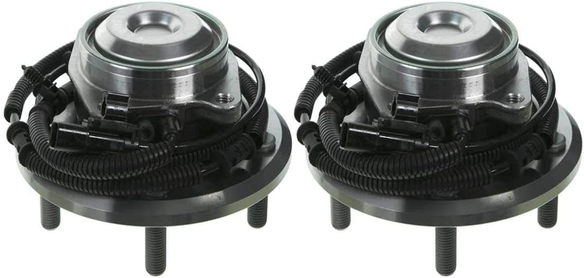 AutoShack HB612495PR Pair of 2 Wheel Bearing Hub Rear Driver and Passenger Side Wheel Hub Bearing and Assembly 5 Lugs with ABS Replacement for 2012-2019 Dodge Grand Caravan