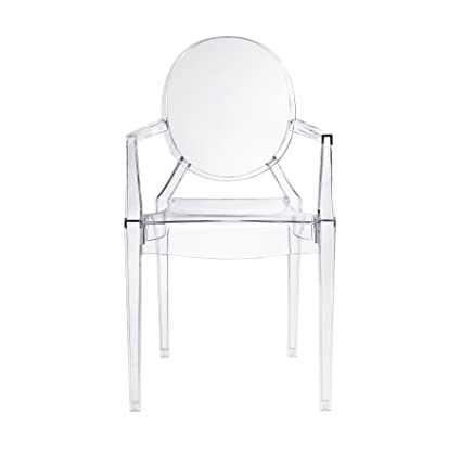 Merveilleux Design Tree Home Ghost Arm Chair, Clear