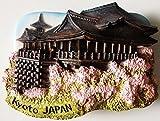 Kyoto Japan Kiyomizu-dera Water Temple Resin 3D fridge Refrigerator Thai Magnet Hand Made Craft. by Thai MCnets