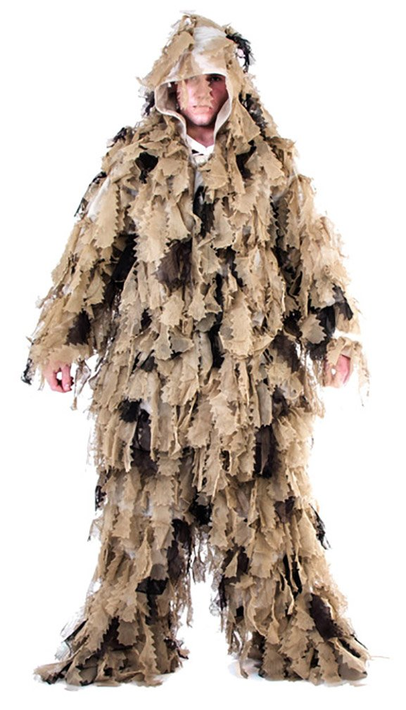 Mil-Tec Ghillie Suit Oak Leaf 3D 3 PC desert