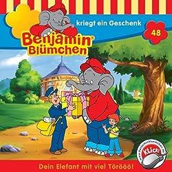 Benjamin kriegt ein Geschenk (Benjamin Blümchen 48)