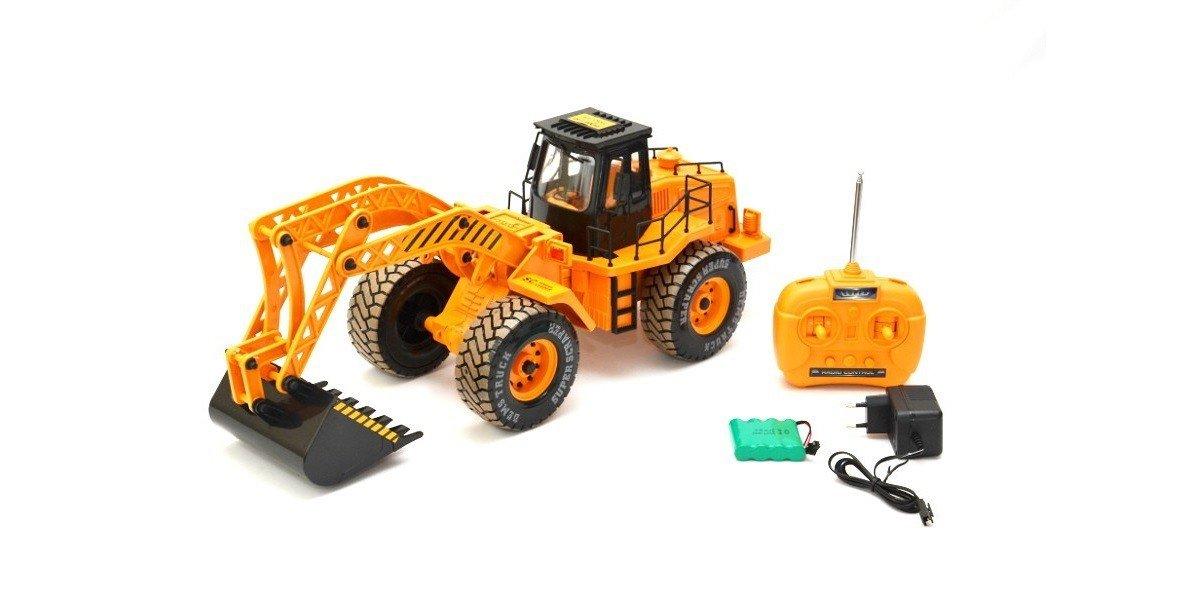 068-2 Es-Toys RC veh/ículo de construcci/ón con acumulador Canal 3 Excavadora Escala 1:10