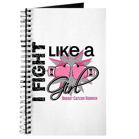 CafePress pelea como una chica licenciada 13,2 diario, color Lined estándar