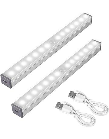Lamps, Lighting & Ceiling Fans Home & Garden Pir Motion Sensor Led Under Cabinet Light Kitchen Square Night Light With Hook
