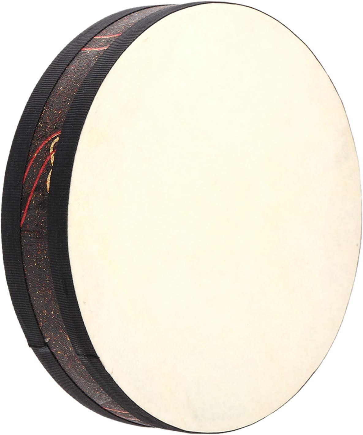 Iycorish 10 Inch Ocean Wave Bead Drum Gentle Sea Sound Musical Instrument