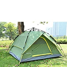 Waterproof Double Layer Instant Family Camping Tent Outdoor Hiking 3-4 Person