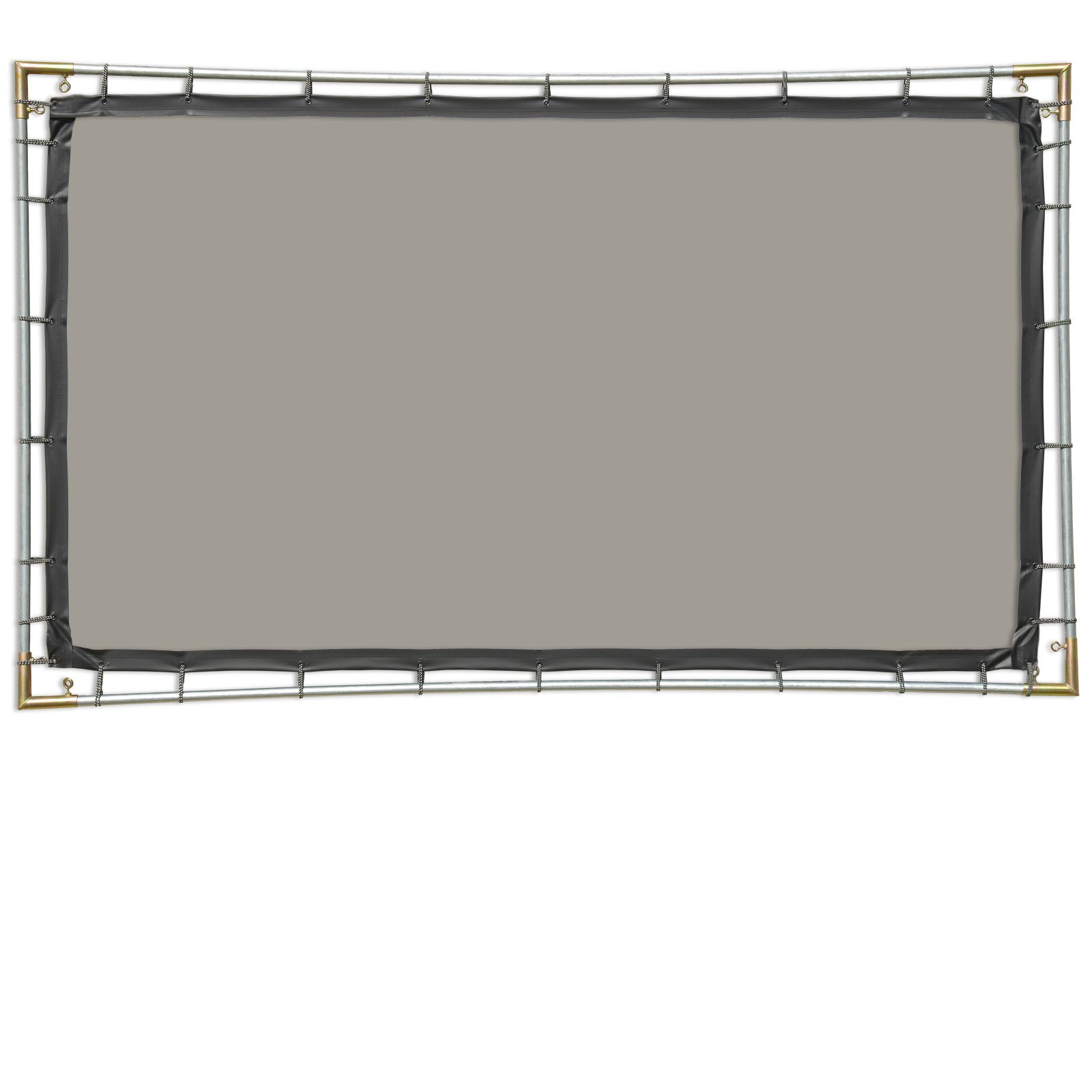 Carl's (4:3) 6.75x9 Ft Gray Rear Projection Hanging Kit (Window Projection Material for Halloween Digital Decorations) by Carls Place