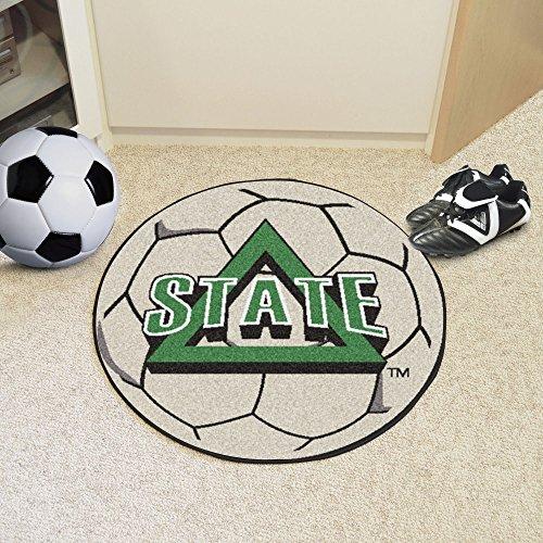 - FANMATS NCAA Delta State University Statesmen  Nylon Face Soccer Ball Rug