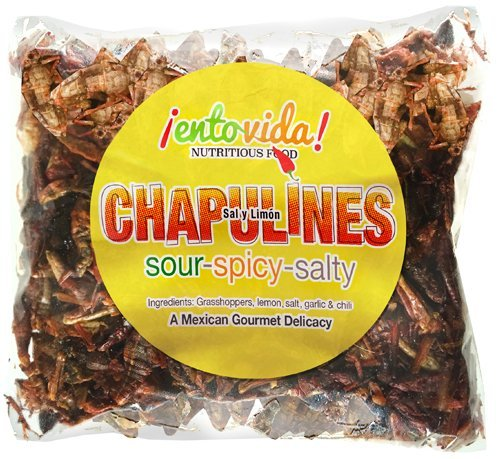 Sal y Limon Chapulines | 4 Ounces
