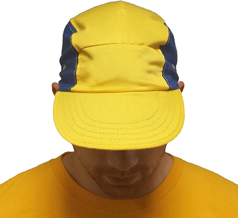 Yellow and Blue Will Smith Hat Fresh Prince of Bel-Air TV Show Cap Costume  Gift at Amazon Men s Clothing store  2d32860d850