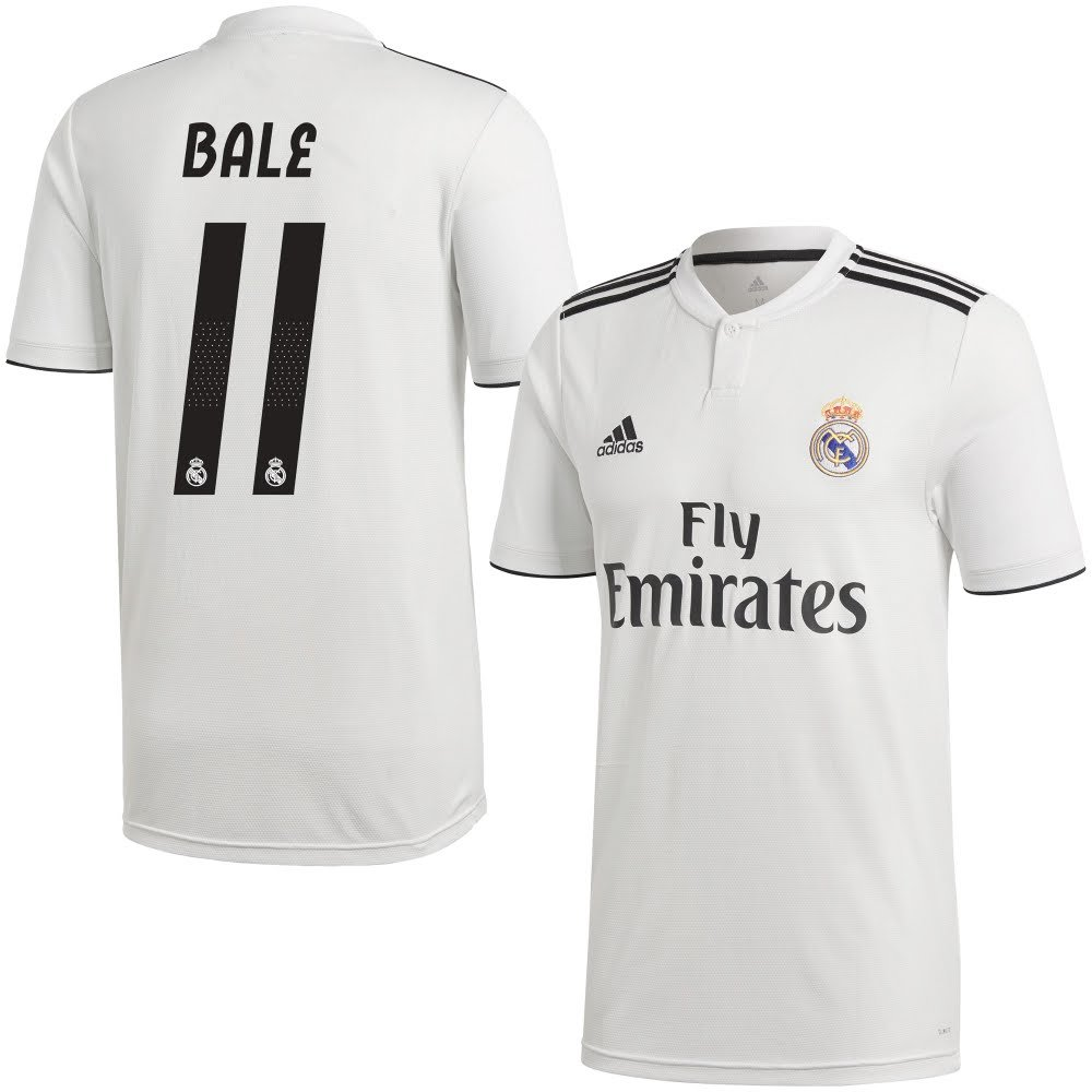 Real Madrid Home Trikot 2018 2019 + Bale 11