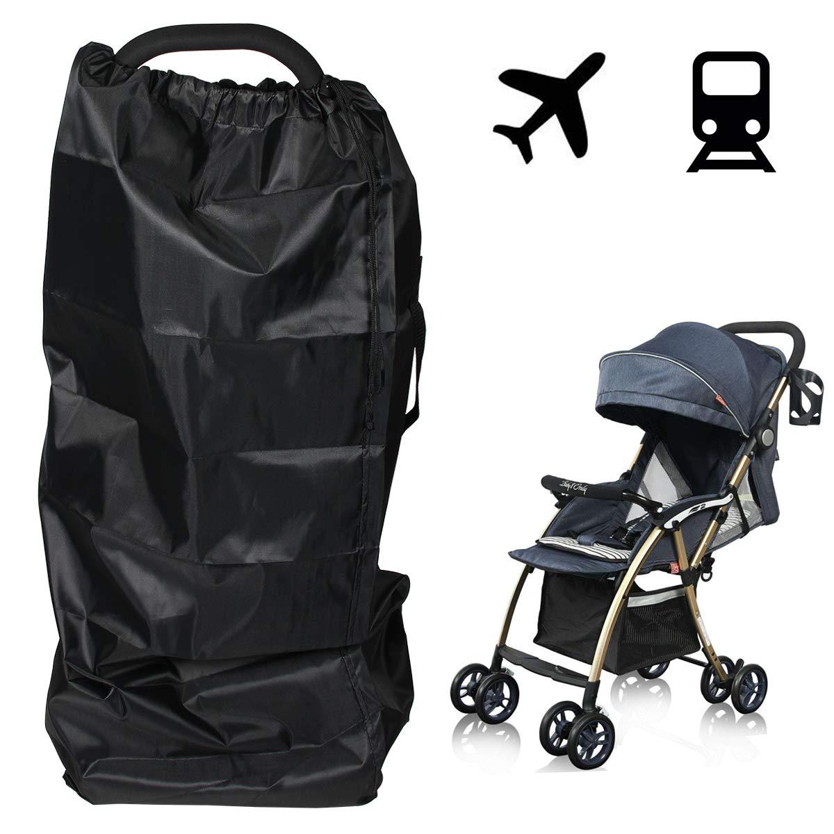 Evilandat Kinderwagen Transporttasche Universal Kinderbuggy Tragetasche f/ür Flugzeug Reise Leicht Wasserdichte einfacher Transport