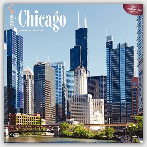 Chicago 2016 Square 12x12 (ST-Dark Blue Foil)