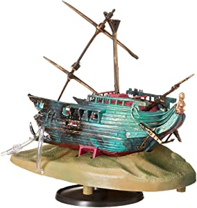 Penn-Plax Action-Air Jewel Box Shipwreck Aquarium Ornament