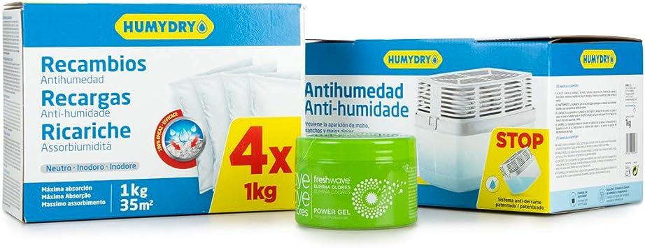 Lote HUMYDRY Antihumedad Trasteros: Amazon.es: Bricolaje y herramientas