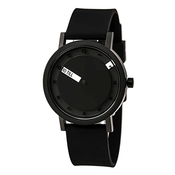 Projects Watches (Will-Harris) - Till Black Acero Negro Reloj Silicon Unisex