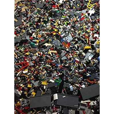 2 POUNDS of Legos Bulk lot Bricks Parts Pieces 100% Lego Star Wars, City, Etc.: Toys & Games