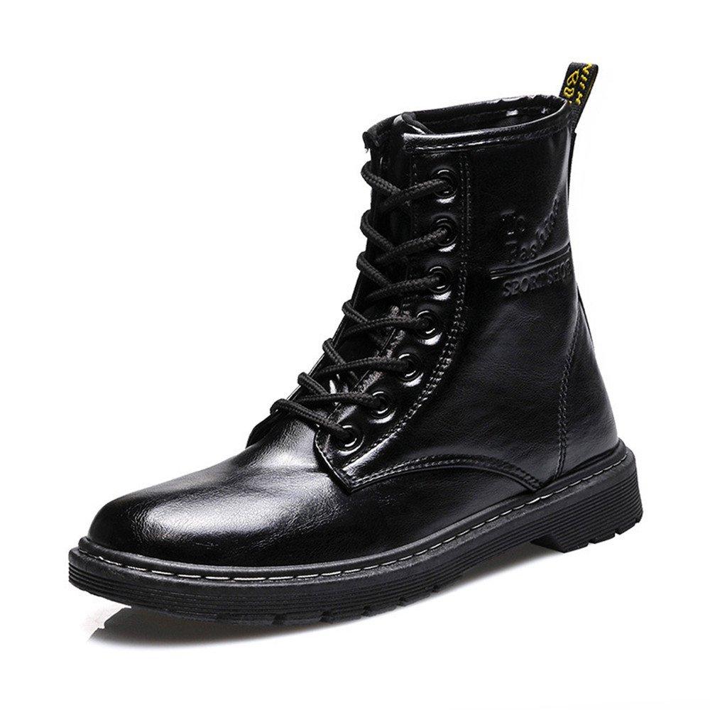 Europa y los Estados Unidos Martin botas botas de moda otoño e invierno botas nieve botas zapatos caliente, negro, 38 38 black