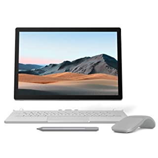 【Microsoft ストア限定】3点セット: Surface Book 3 (Core i5/8GB/256GB) + Surface Arc Mouse (グレー) + Surface ペン (プラチナ)