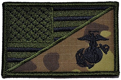 Fleece Marine Corps Fabric - [Single Count] Custom, Cool & Awesome {3