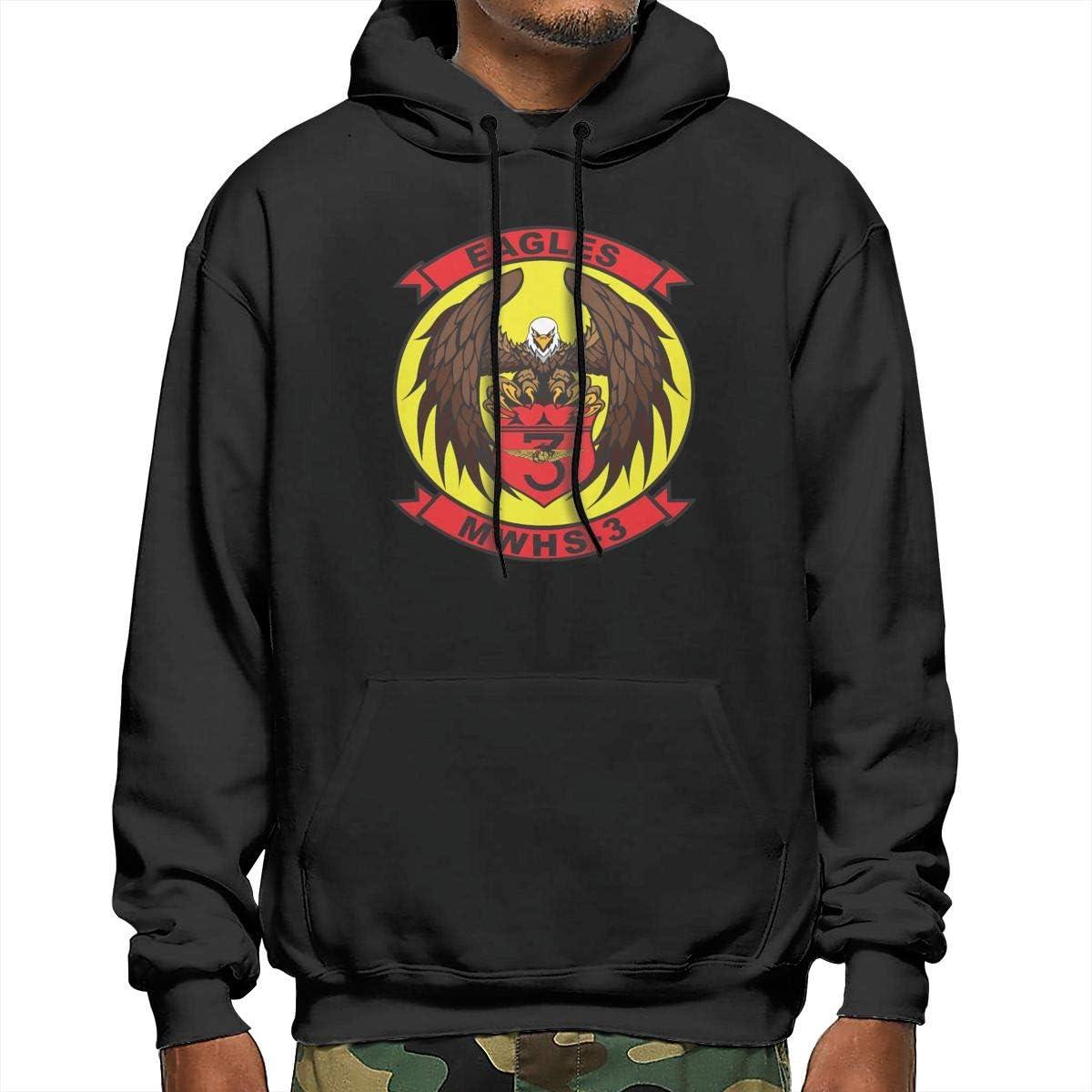 Marine Wing Headquarters Squadron 3 Mens Hooded Sweatshirt