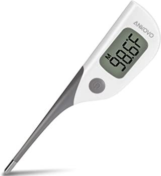 Ankovo Waterproof Fast 8 Seconds Reading Digital Thermometer