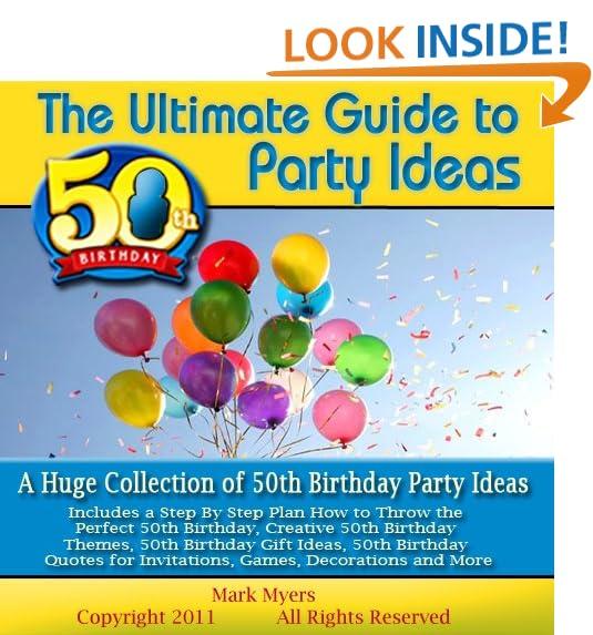 Damaris 50th Birthday Party: 50th Birthday Party Ideas: Amazon.com