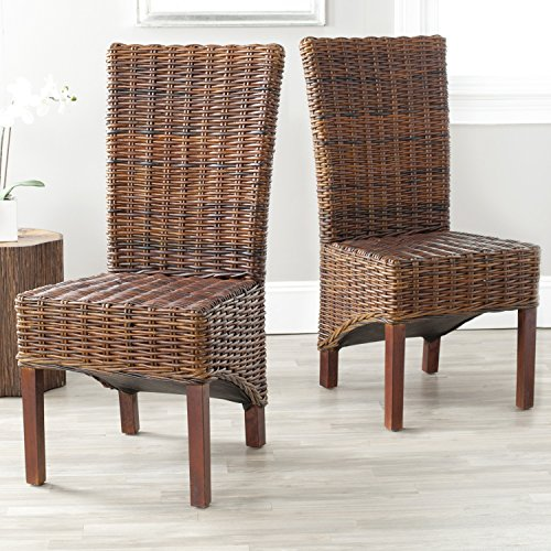 Safavieh Home Collection Ridge Croco Color Dining Chair (Set of 2)