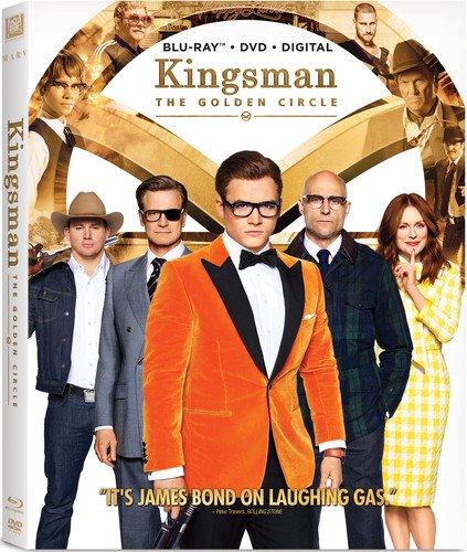 Kingsman 2  The Golden Circle  Blu Ray