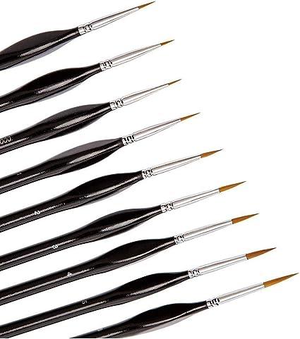 Brush Set For Painting 9 pcs