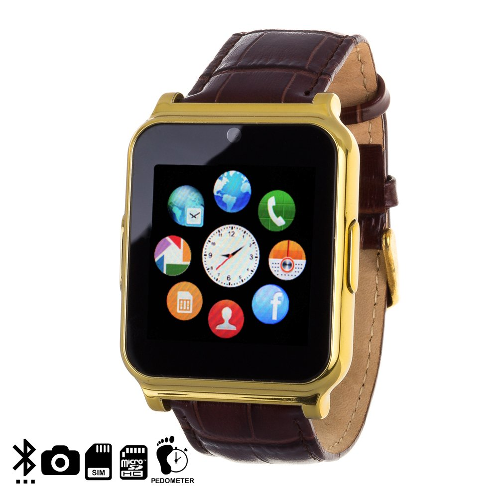 DAM DMS002 - Smartwatch Bluetooth con cámara W90, Color ...